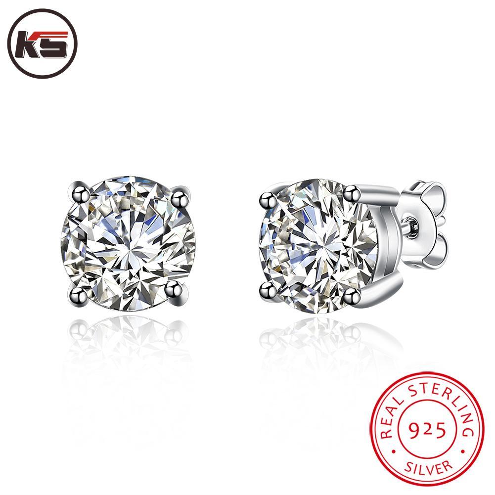 Online Get Cheap Mens Real Diamond Earrings Aliexpress