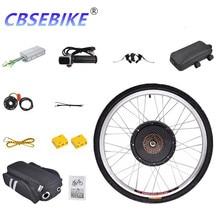 CBSEBIKE 20-дюймовая задняя часть электровелосипеда, высокоскоростной комплект для переоборудования колес 48 в 1000 Вт
