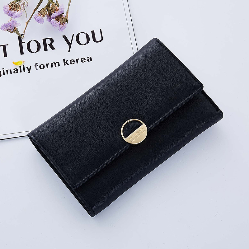 Elegant Leather Wallet Women Fashion Hasp Female Wallets For Girls Card Holder Lady Bags Quality Coin Pocket Dropshipping Purse fashion women wallets girl retro coin bag purse wallet lady card case handbag 2017 womens coin purse bags for girls gift