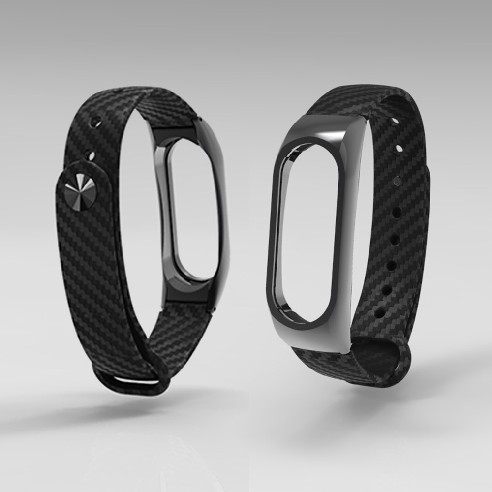 Strap Band For Xiaomi band 2 TPE Wristband Carbon fiber texture sports silicone strap for MI band 2 Wrist Strap tpe color mix wristband for xiaomi mi band 2