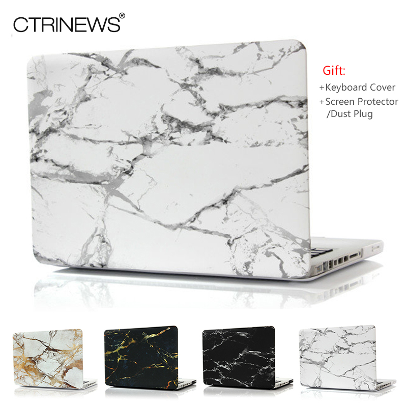 Ctrinews Marble Texture Case Matte Cover For Apple Macbook Air Pro