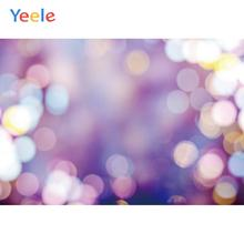 Yeele Christmas Party Decor Bokeh Lights Customized Photography Backdrops Personalized Photographic Backgrounds For Photo Studio