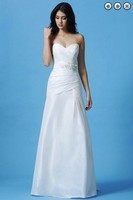 free shipping new Fashion dinner 2013 maxi brides maid dress vestidos formales white long dress Bridesmaid Dresses bridal belt