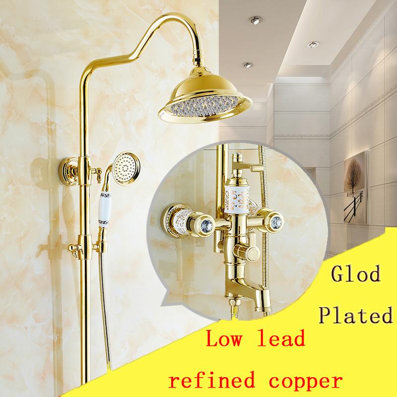 Gold Rain Shower Head. Cool Gold Rain Shower Head Photos  Bathroom with Bathtub Ideas Great Images