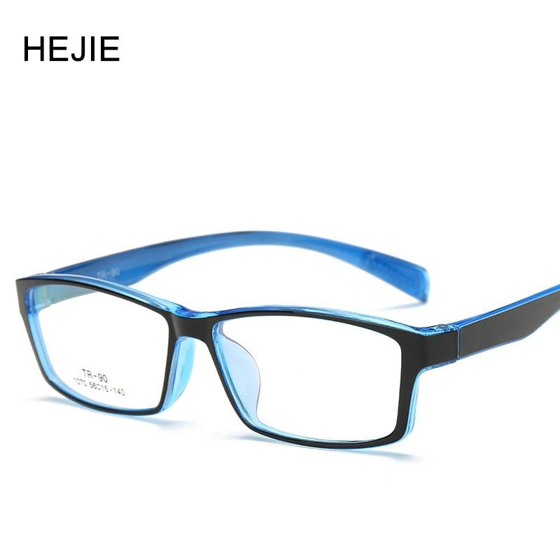 Gratë për burra të modës Syzet e syzeve Acetate Korniza Markë TR90 Korniza e plotë e Syzave të Miopisë për Madhësi Mashkullore Femra 56-15-140 Y1018