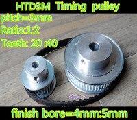 3M Timing Belt Pulleys HTD3M 1 2 Timing Pulley Teeth 20 40 Belt Width 10mm Bore