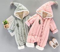 baby One piece clothes winter boys clothing Long Sleeve Cartoon Romper Jumpsuit Cloth Outfits