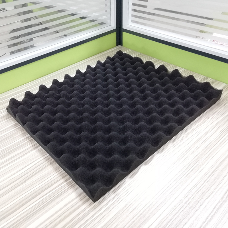 Soundproofing Foam 30*20CM Black Egg Crate Studio Acoustic Foam Soundproofing Treatment Egg Profile Foam