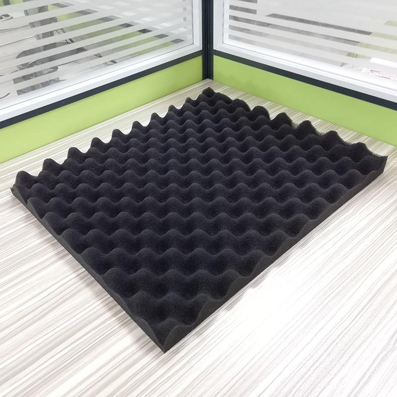 Soundproofing Foam 30*20CM Black Egg Crate Studio Acoustic Foam Soundproofing Treatment Egg Profile Foam