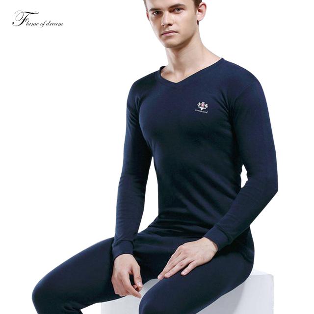 Para el peso 40-90 kg 100% de algodón térmico underwear underwear underwear hombres long john térmicas de los hombres térmica 10