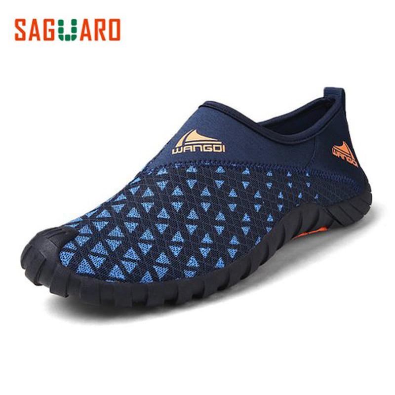 Prix pour Saguaro 2017 d'été hommes d'eau shoes slip-sur rapide séchage pieds nus chaussettes plage aqua shoes hommes de marche en plein air sneakers schuhe