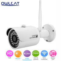 HI3518e 1 4 OV9712 CMOS HD 720P Wireless IP Camera Wifi Onvif Video Surveillance Security CCTV