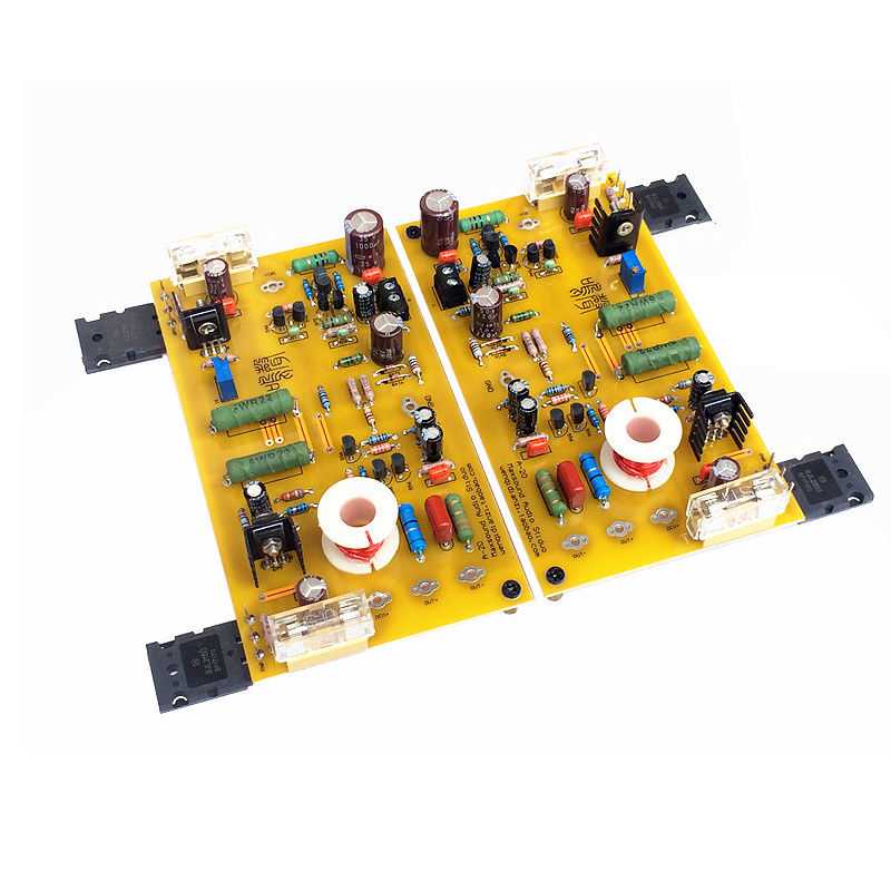 30W Class A Power Amplifier 2.0 Channel HiFi Amp Board MN202 Circuit mini world mn202