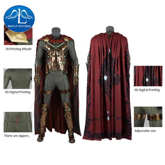 SpiderMan Mysterio Halloween Costume for Kids