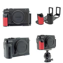 Yiwa PEIPRO Quick Release L płyta uchwyt kamery ręki chwyta dla Fujifilm GFX 50R akcesoria do aparatu|Monopody|Elektronika użytkowa -