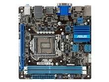 P8H61-Я Оригинальный Использовать Рабочего Материнская Плата H61 Сокет LGA 1155 Для i3 i5 i7 DDR3 16 Г USB3.0 Mini-ITX на Продажу