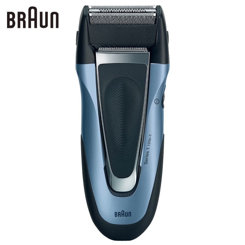 Braun Electric Shavers Triple Blades Reciprocating Sharp Shaving Razor Machine Electric Safety Razor For Men 199s-1 Hair Romoval braun electric shavers 5030s rechargeable reciprocating blades high quality shaving safety razors for men