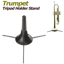 SLADE Moveable Trumpet Tripod Holder Stand with Removable & Foldable Metallic Legs