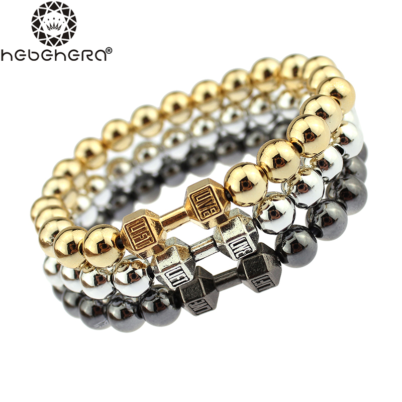 best ccb bracelet unisex golden silver black alloy