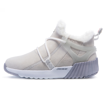 ONEMIX Winter Men's Boots Keep Warm Wool Trekking Sneakers Outdoor Unisex Mountain Waterproof Hiking Shoes Running Shoes for Man 13