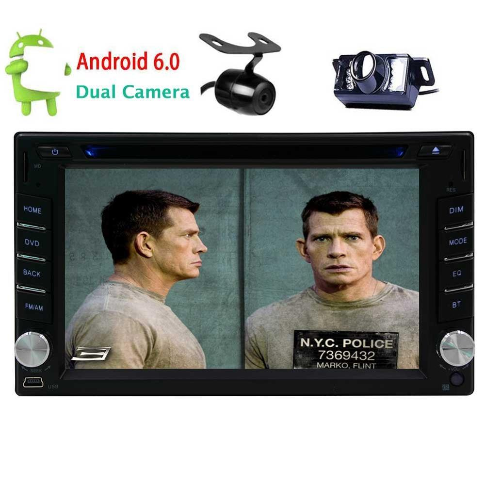 Android 6 0 Car DVD Player double two 2Din Car Stereo gps headunit font b multimedia