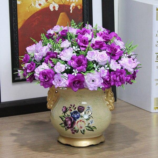 cam florero dekoratif vazo vaso de flor jarrones decorativos moderno home decoration accessories modern teraryum flower