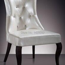 Европейский и американский стиль удобные белые мягкие стулья в вестибюле гостиниц LQ-L8001