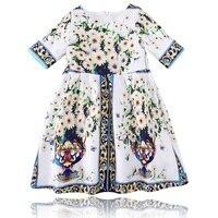 Baby Girl Clothes Children Girl Summer Fashion 2017 Robe Enfant Summer Dress Vestido Flower Print Princess