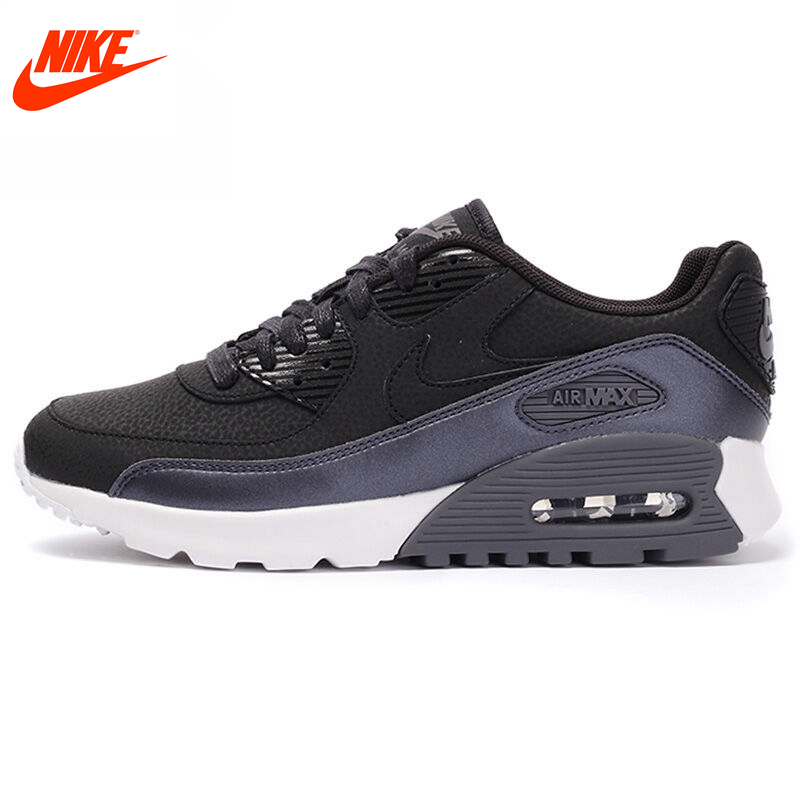 Original New Arrival Official NIKE Air Max 90 Women's Running Shoes Sneakers nike original 2017 summer new arrival air max 90 women s running shoes sneakers