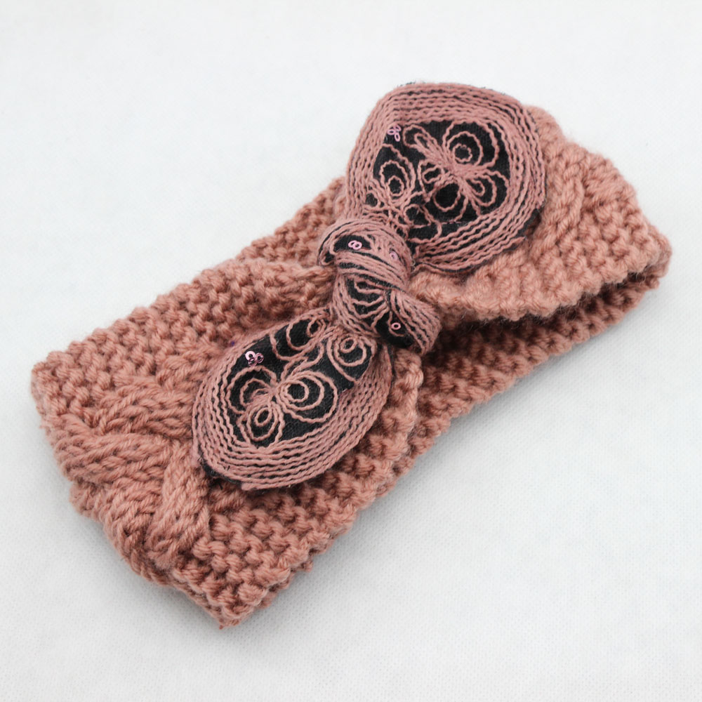 Wholesale knitted headband cable loop round winter headband wholesale knitted headband cable loop round winter headband fashion ear warmer knit hair band crochet headband hair accessories in hair accessories from bankloansurffo Choice Image