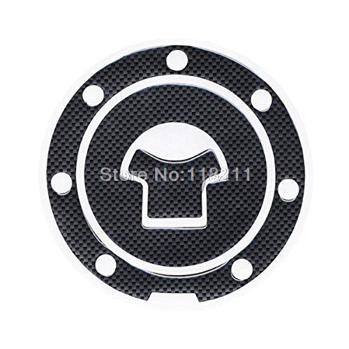 RPMMOTOR Motorbike Racing Fiber Fuel Gas Cap Cover Tank Protector Pad Sticker Decal For Honda CBR 600 F2 / F3 / F4 / F4i / F5