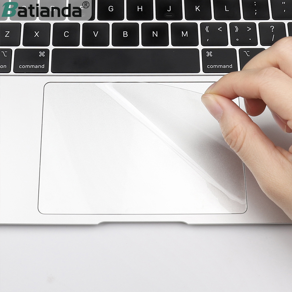 Transparent Touchpad Protective Film Sticker For Apple Macbook Air 13 Pro 13.3 15 Touch Bar 2019 2018 A1990 Touch Pad Protactor