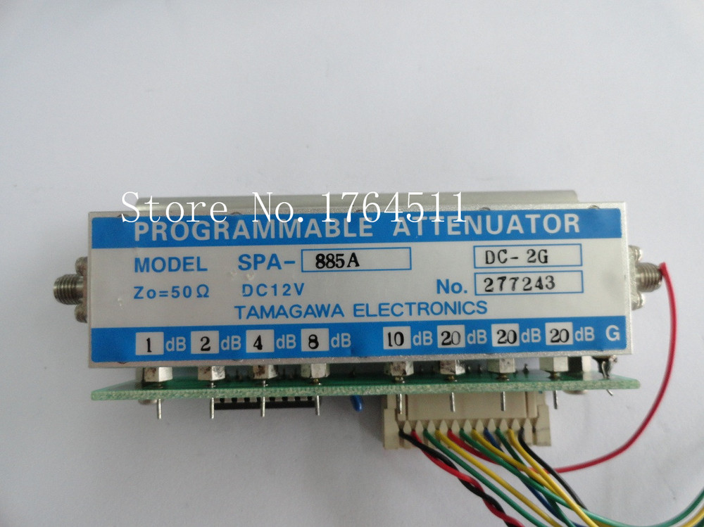 [BELLA] The programmable step attenuator TAMAGAWA SPA-885A 0-85dB DC-2GHz 12V