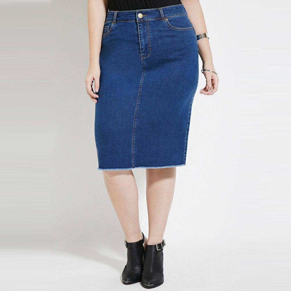 Modest Jean Skirt Promotion-Shop for Promotional Modest Jean Skirt ...
