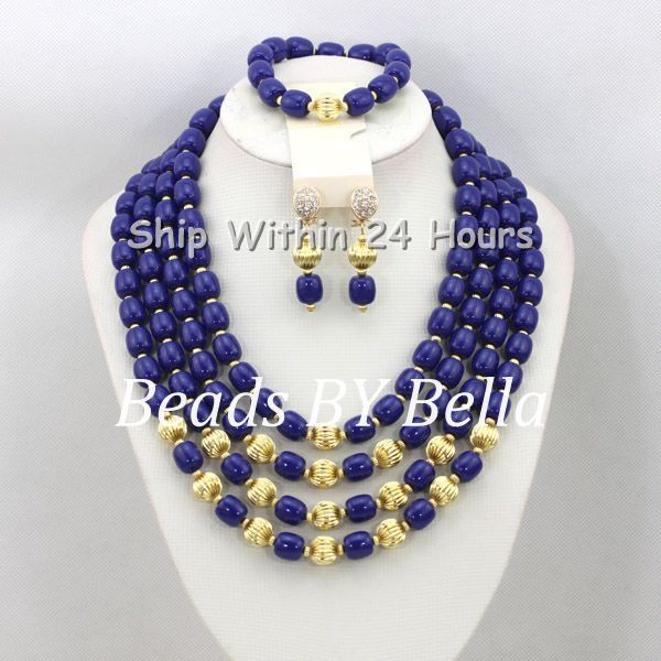 Graceful New Fashion Jewelry Set African Bridal Jewelry Set Wedding&Party Beads Necklace Set Bridal Jewelry Free Shipping ABC923 цена