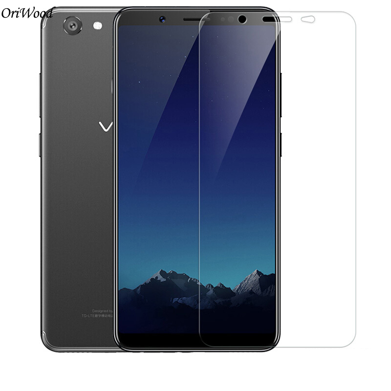 OriWood 2.5D 9H Tempered Glass For VIVO V7 Plus Super Clear Screen Protector For VIVO Y75 Y79 Protective Film For VIVO V7Plus