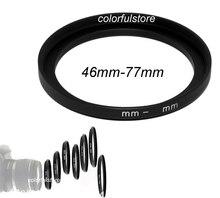 Iyi 46mm 77mm 46 77 46 77mm Metal Step Up Step Up Halka Kamera lensleri Filtresi Adaptör Filtreler Lens Hood Tutucu L010