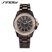 Amantes SINOBI relojes Casual analógico de acero inoxidable mujeres y hombres de lujo del negocio 2015 nuevo diseño cuarzo parejas relojes relojes deportivos