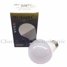цены AC85-265V MILIGHT 2.4G Wireless LED bulbs E27 6W RGBW RGBWW RGB+Warm White/White wifi lampada LED Dimmable Bulb Lamp spot light