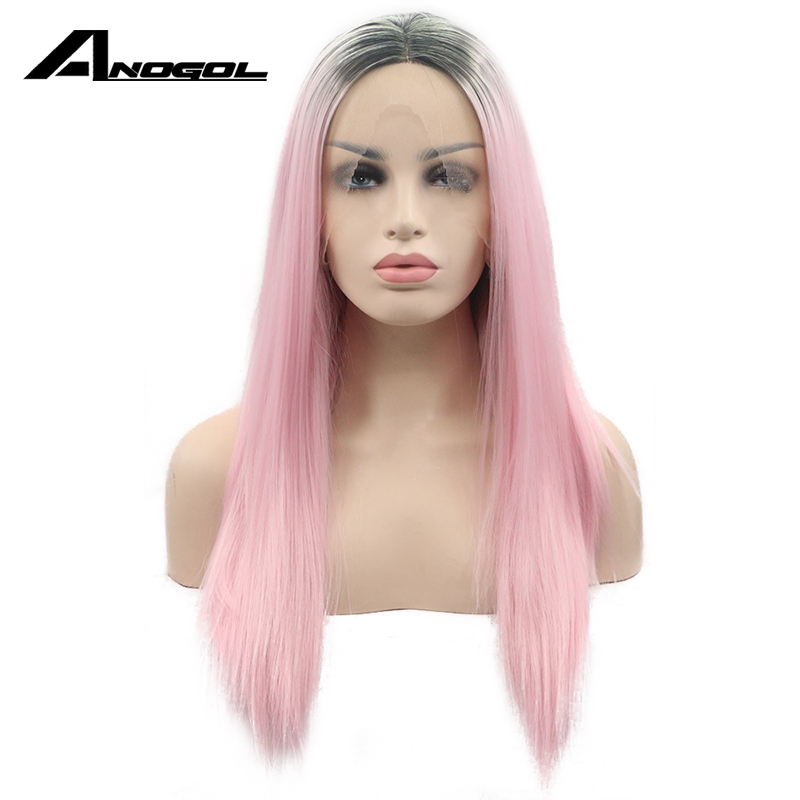 Astounding Online Get Cheap Long Pink Wig Aliexpress Com Alibaba Group Hairstyle Inspiration Daily Dogsangcom