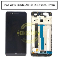 For ZTE Blade A610 LCD Display Screen 100%Tested High Quality LCD Display+Touch Screen Replacement for ZTE Blade A610 Smartphone