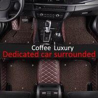 CARFUNNY пользовательские автомобильные коврики для Mercedes Benz GLK W204 220 250 300 350X204 Стайлинг ковер пол