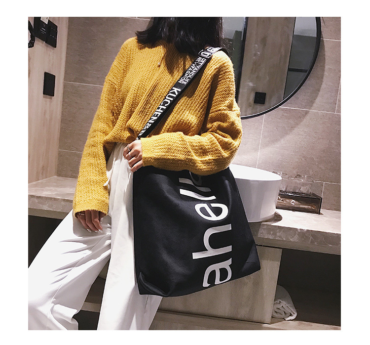 HTB1EJ7yh9zqK1RjSZFjq6zlCFXa3 - New Large-capacity Velvet Handbag Fashion Lady Letter Shoulder Crossbody Bag High Quality Women's Shopping Bag Tote