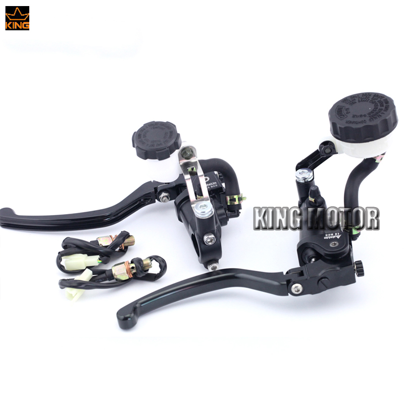 For DUCATI Streetfighter 848 13-15/ Streetfighter 1100 09-13/ GT1000 Motorcycle Radial Clutch & Brake Master Cylinder Levers