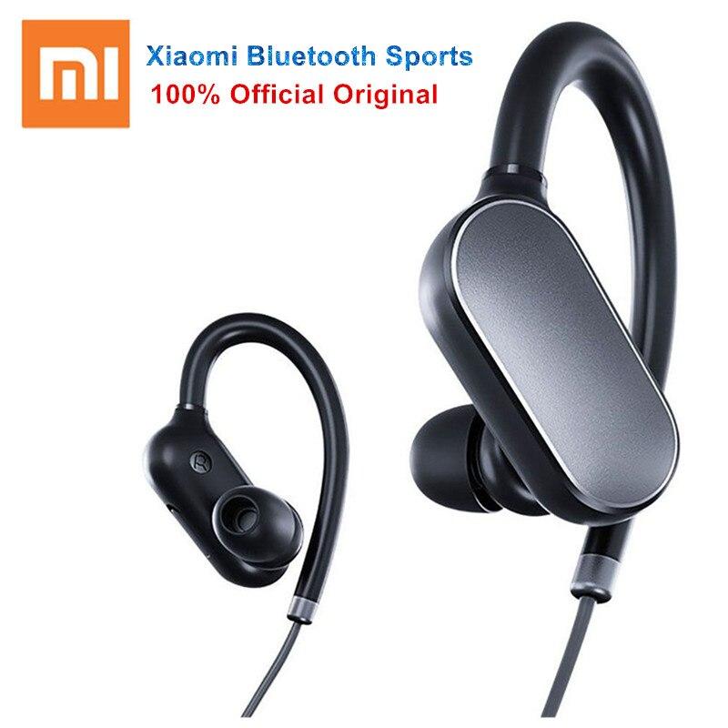 bilder für Original Xiaomi Mi Sport Bluetooth Headset Wireless Bluetooth 4,1 Musik Sport Kopfhörer Sweatproof Leben wasserdicht