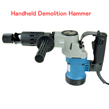 Handheld Demolition Hammer For Concrete Wall Decoration Electric Demolition Hammer Wall Hammer  900W electric demolition breaker impact hammer 0810 230v 50hz vde plug 900w with a flat chisel and a point chisel in blow case