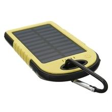 Cncool Водонепроницаемый Солнечный Мощность Bank Настоящее 20000 мАч Dual USB внешний полимерный Батарея Зарядное устройство открытый свет лампы Мощность банк Ferisi