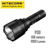NITECORE P30 Tactical Light Hunting Lithium Battery Flashlight LED Waterproof Multifunctional Flashlight