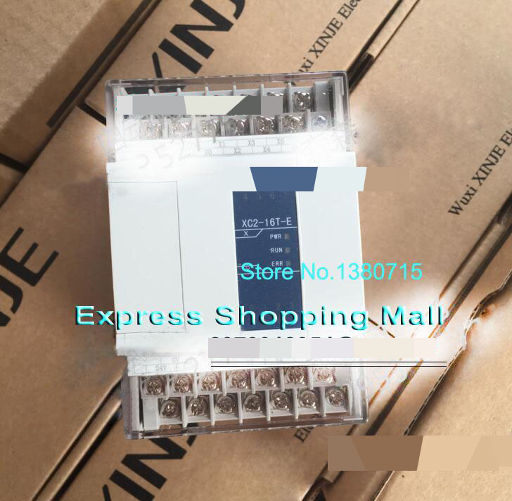 New Original XC2-16T-E PLC AC220V 8point NPN input 8point transistor output 2COM cable 2pcs new 10pcs om micro switch v 105 1a4 t v 105 1a4 t industry industrial plc d