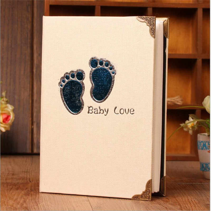 Family Photo Album 6 Inch 4r Album Photos for Insert 200 Photos Storage Baby Children's Albums  Wedding Memory Book Friend Gift